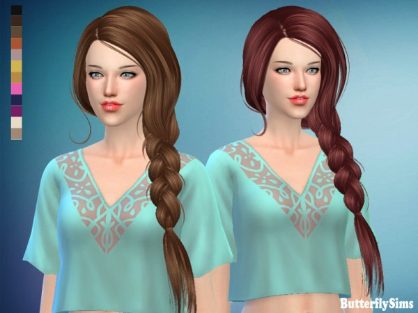 Butterflysims: B flysims hair 190f No hat