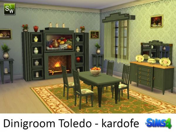 The Sims Resource: Dinigroom Toledo by Kardofe
