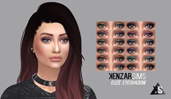 Kenzar Sims: Elize eyeshadow