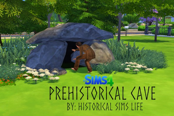 History Lovers Sims Blog: Cave for Prehistoric Age