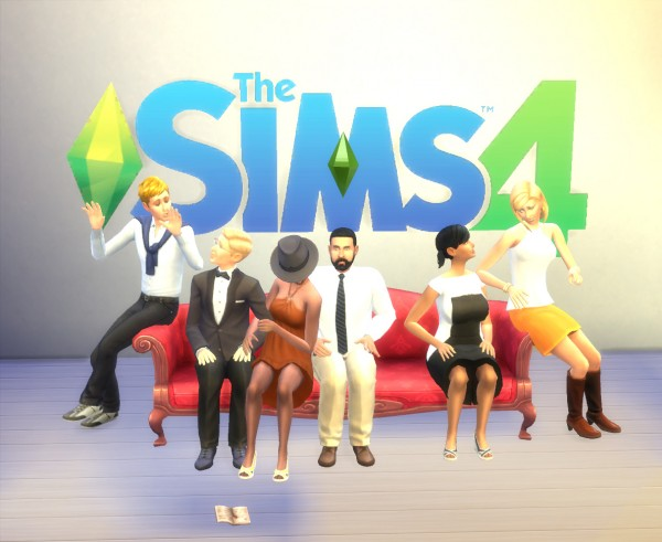 Mod The Sims: Couch Together by artrui
