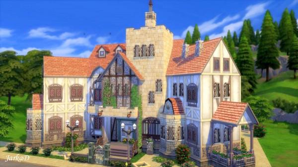 JarkaD Sims 4: Tudor II house