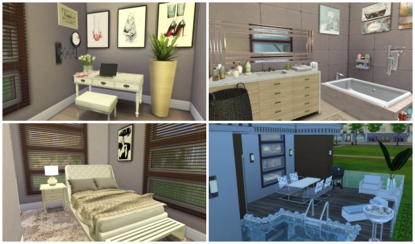 Dinha Gamer: Building on Newcrest   Small Modern House II