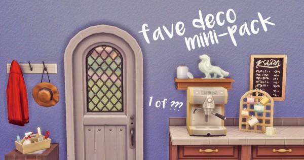 Hamburgercakes: Fave Deco Mini Pack