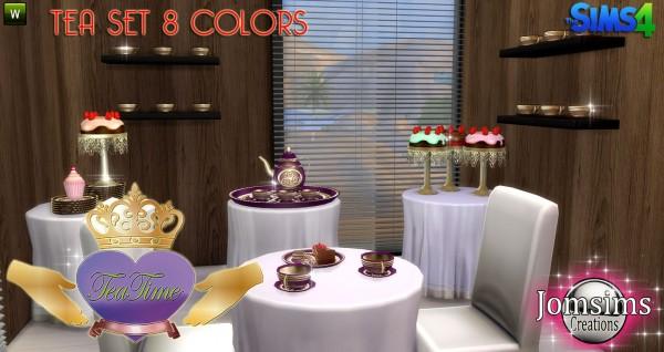 Jom Sims Creations: Tea Time set