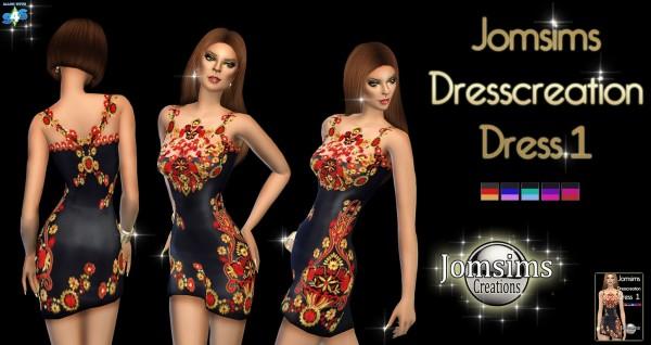 Jom Sims Creations: 3 Dress Creation