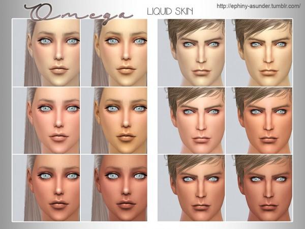 Simsworkshop: Omega Liquid Skin V1 and V2 1.0