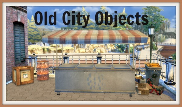 Dinha Gamer: Old City Objects