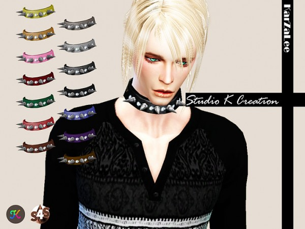 Studio K Creation: Spiked Collar for male