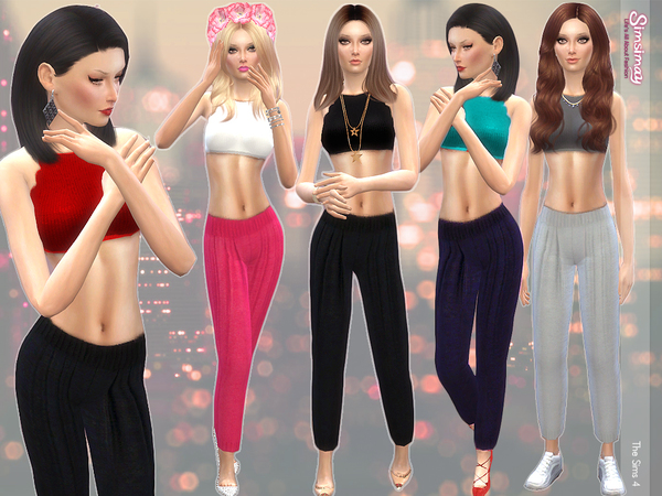 The Sims Resource: Kendal Casual Set by Simsimay
