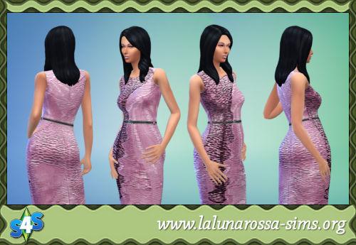 La Luna Rossa Sims: Pretty Pencil Dress