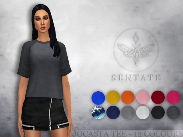 The Sims Resource: Jocasta Tee by Sentate