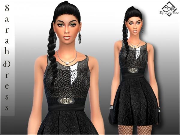 The Sims Resource: Sarah Dress by Devirose