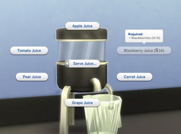 Mod The Sims: Juice Blender by plasticbox