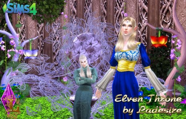 Ladesire Creative Corner: Elven Throne
