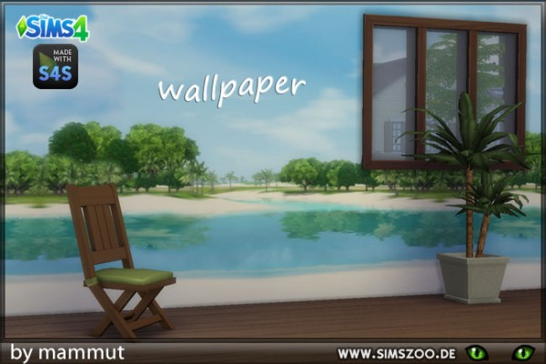 Blackys Sims 4 Zoo: Sunlit Tides C walls