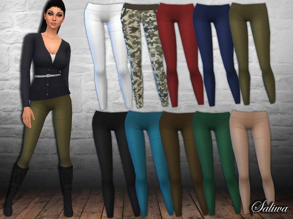 The Sims Resource: Ladies Casual Pants by Saliwa