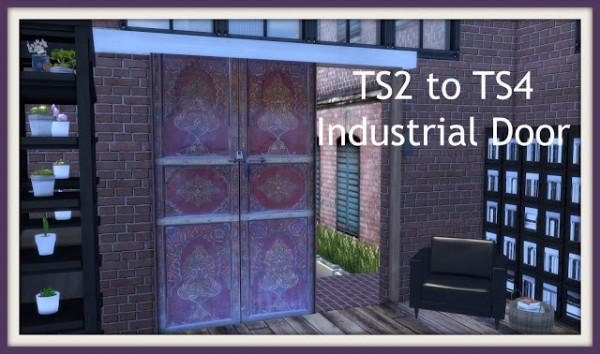 Dinha Gamer: Industrial Door