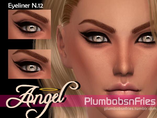 The Sims Resource: Liner N.12   Angel by Plumbobs n Fries