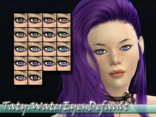 The Sims Resource: Water Eyes by Taty