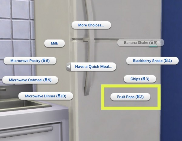 Mod The Sims: Cereal Name Overrides by plasticbox