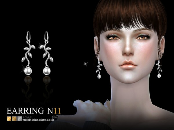 The Sims Resource: Earring 11 by S Club