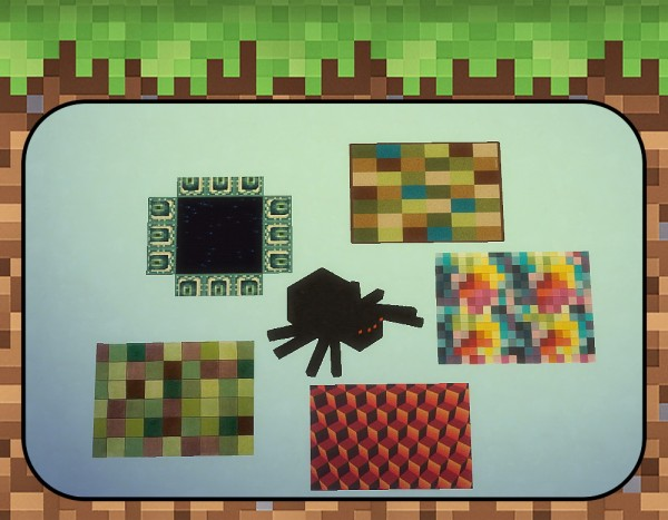 Sims 4 Designs: Minecraft Kids Bedroom Set • Sims 4 Downloads