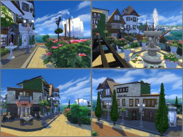The Sims Resource: Capri house by Danuta720
