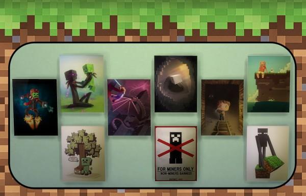 Sims 4 Designs Minecraft Kids Bedroom Set Sims 4 Downloads