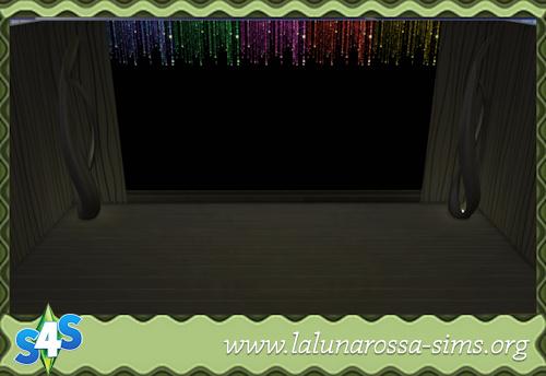 La Luna Rossa Sims: Night Wall