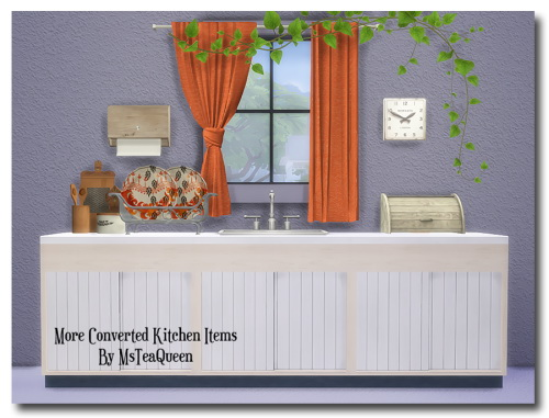 Msteaqueen: More Kitchen Items II