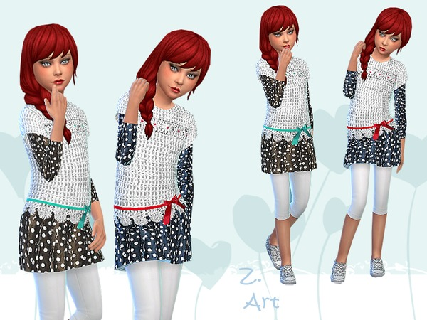 The Sims Resource: Trendy Girl by Zuckerschnute20