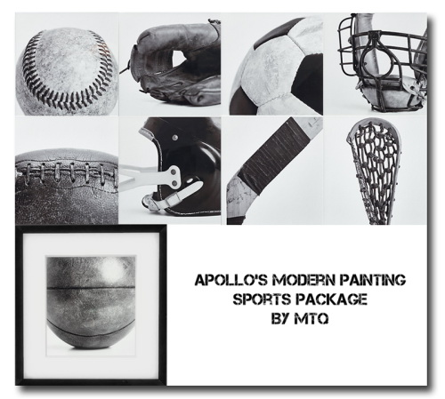 Msteaqueen: Sports Package Paintings