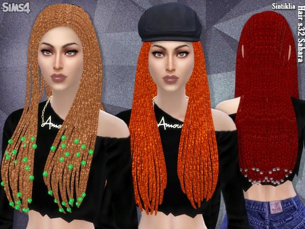 The Sims Resource: Sintiklia   Hair s32 Sahara