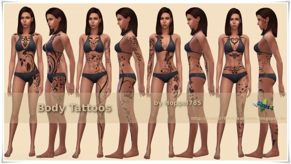 Hoppel785: Body Tattoos