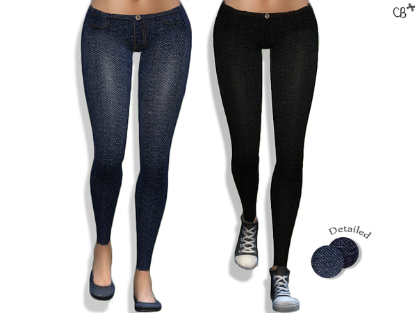 The Sims Resource: Fashionable skinny jeans by CherryBerrySim
