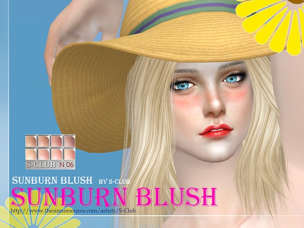 The Sims Resource: Blush 06 by S Club