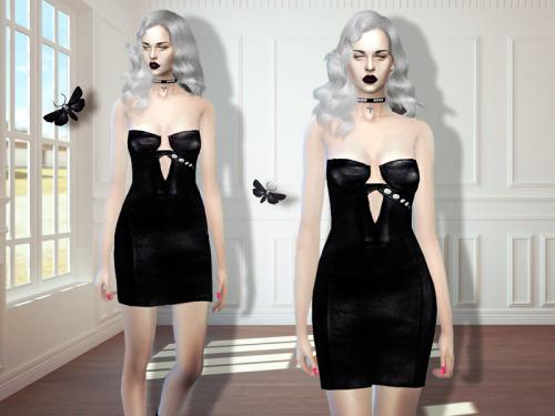 MissFortune Sims: Robbie dress