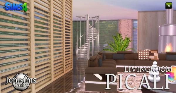 Jom Sims Creations: Picali livingroom