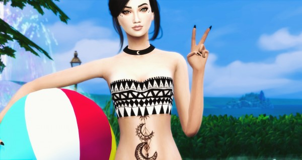 Simsworkshop: Summer Beach Poses Pack by Dreacia