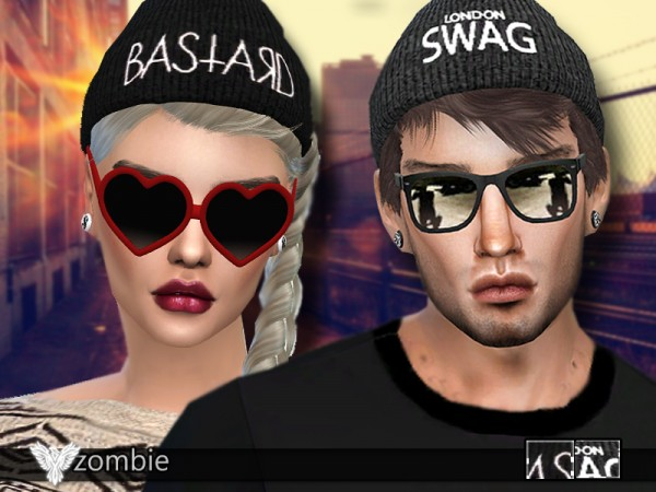 The Sims Resource: Cool Beanies Pack 03 by Pinkzombiecupcake