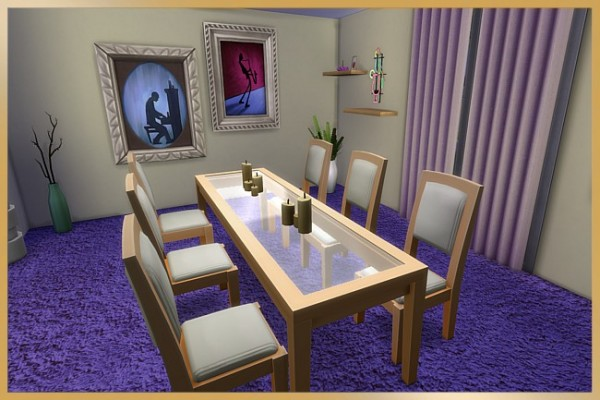 Blackys Sims 4 Zoo: Daizy diningroom by Cappu