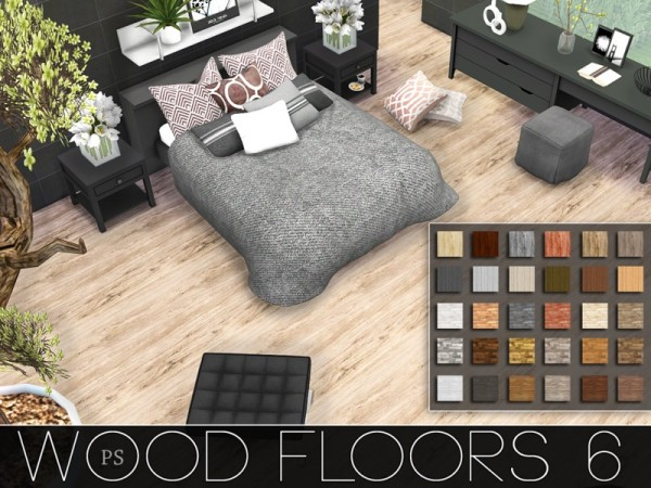 The Sims Resource Wood Floors 6 By Pralinesims Sims 4