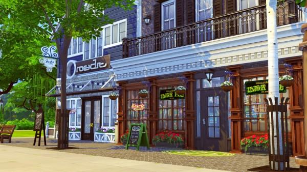 Jenba Sims Callahan S Pub Cafe Mocha Sims 4 Downloads
