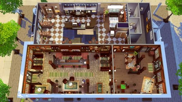 Jenba Sims: Callahan's Pub   Cafe Mocha