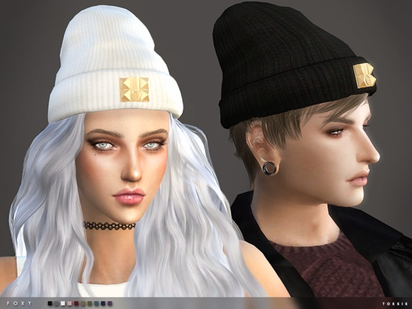 The Sims Resource: Foxy Beanie by toksik