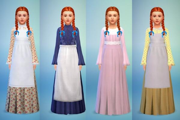 Budgie2budgie: Dress set Charlotte