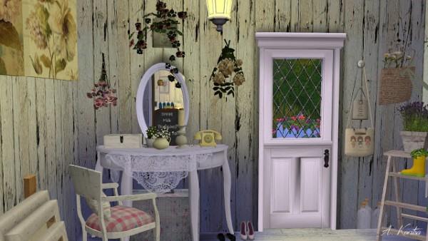 Angelina Koritsa Shabby House Sims 4 Downloads