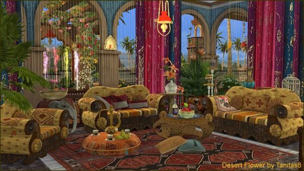 Tanitas Sims Desert Flower Sims 4 Downloads