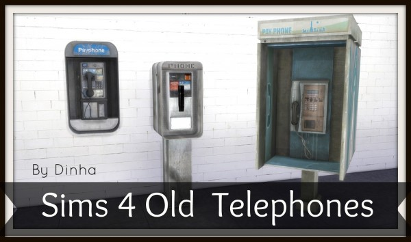 Dinha Gamer: Old Telephones